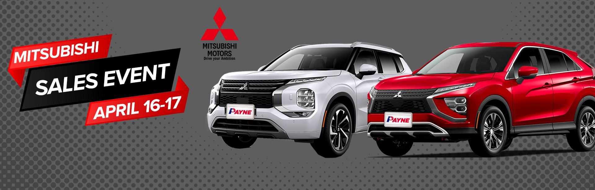 Mitsubishi Sales Event