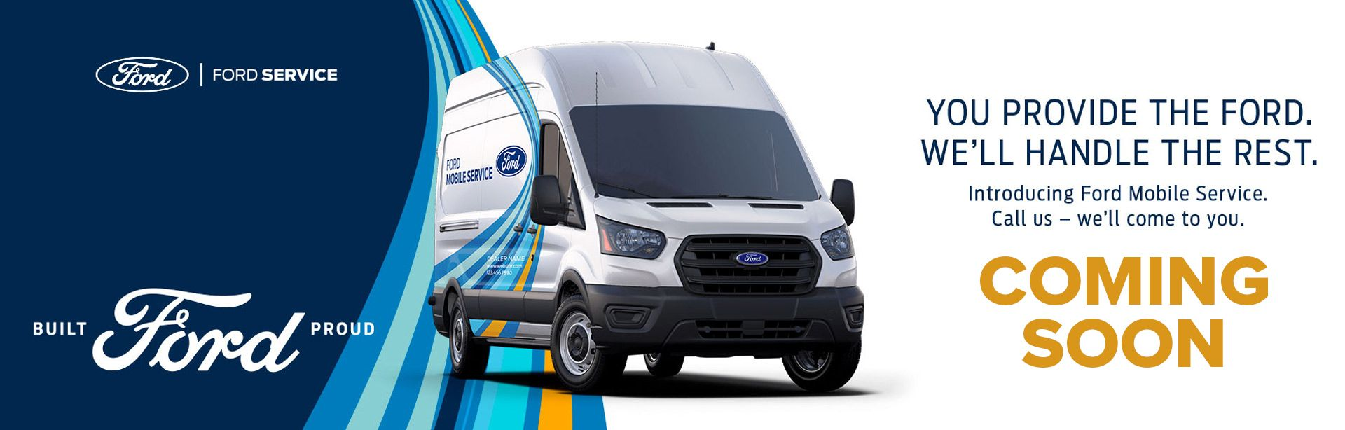 Ford Service Coming Soon