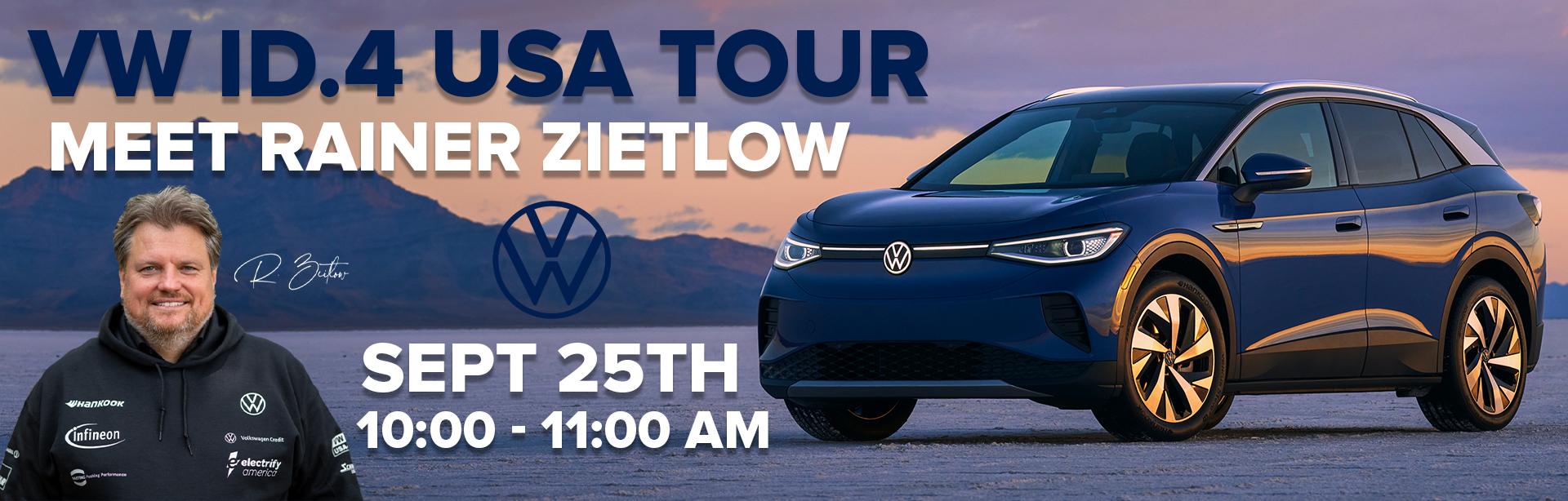 VW ID.4 USA-Tour