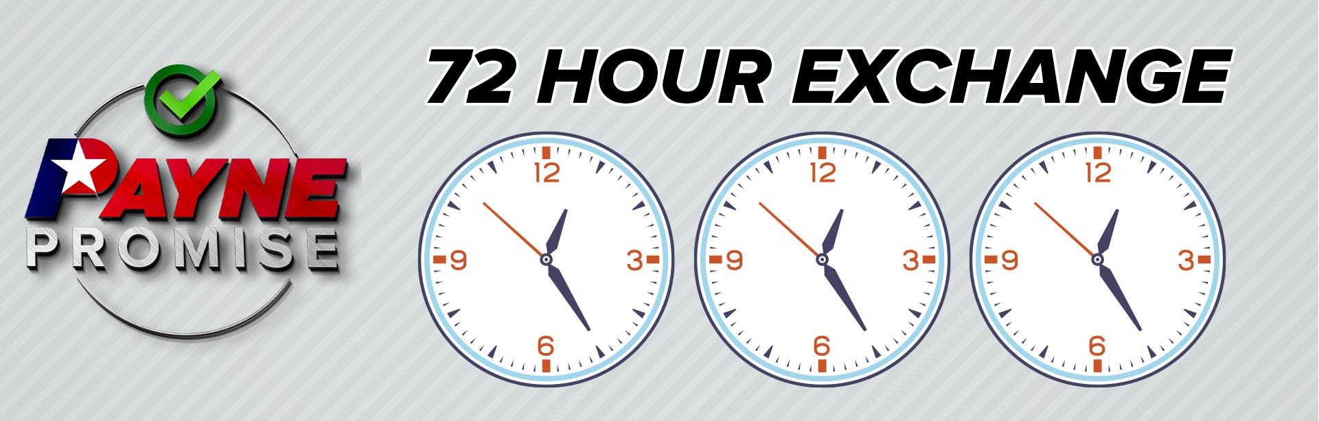 72 Hour Exchange
