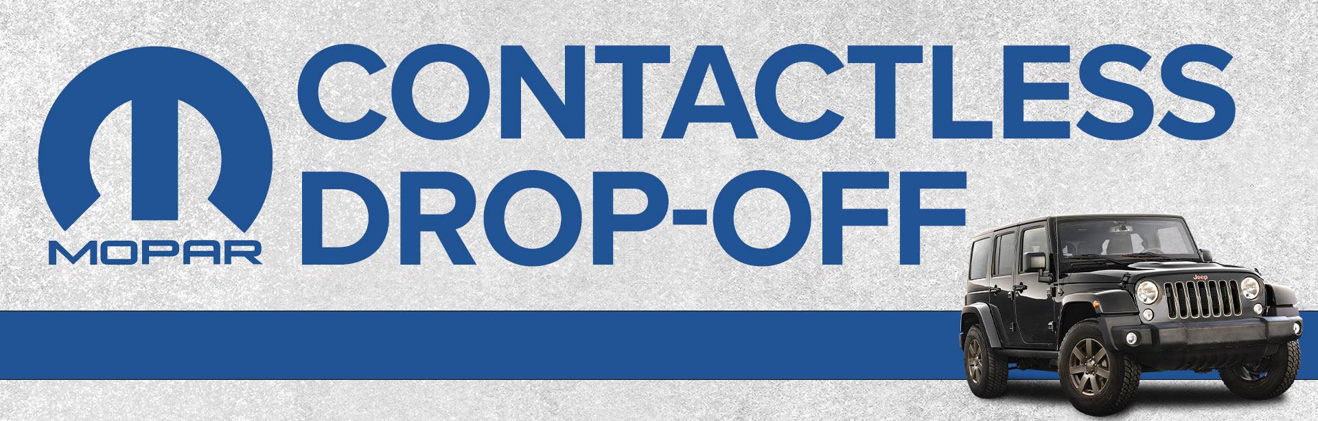 Contactless Mopar Drop Off