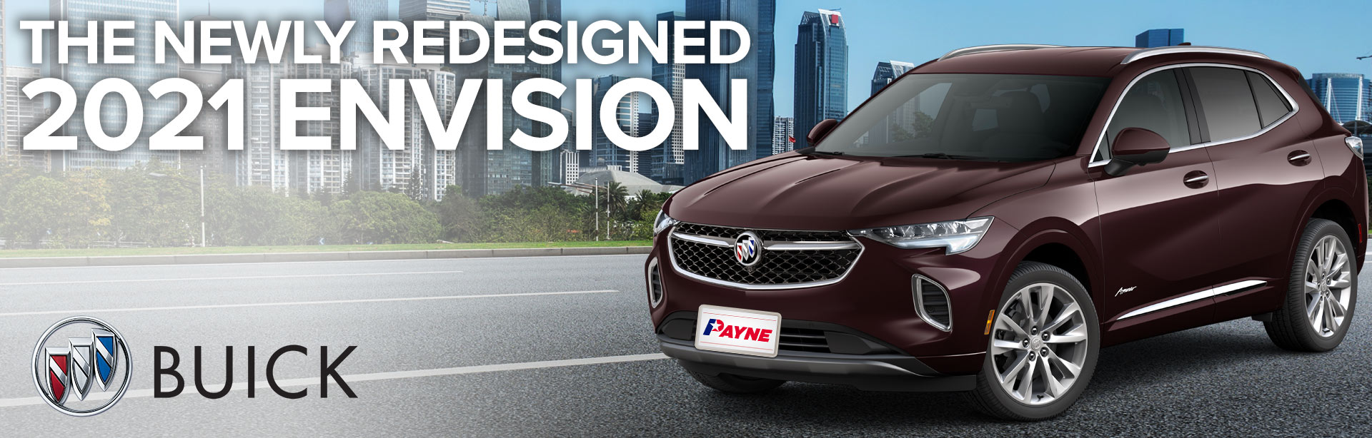 2021 Redesigned Envision