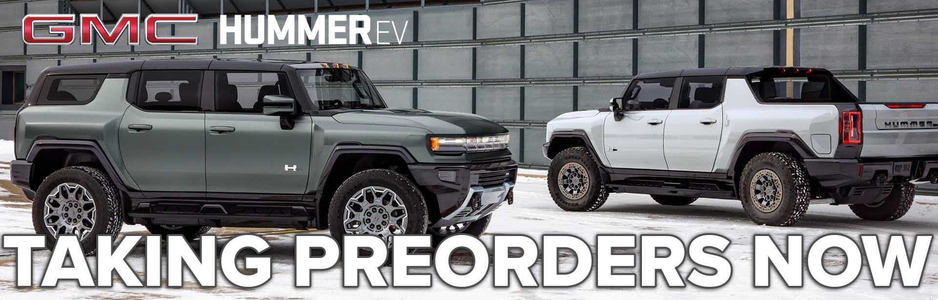 PreOrder Your Hummer Ev